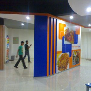 Digital Printing Back Drop - Food Court - Value Media Advertising